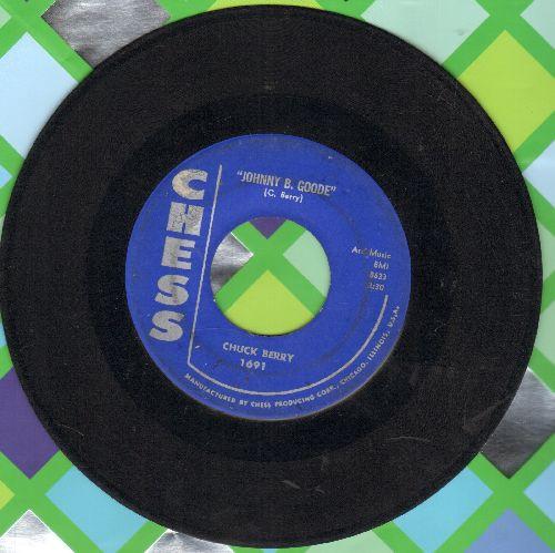 Berry, Chuck - Johnny B. Goode/Around & Around - EX8/ - 45 rpm Records