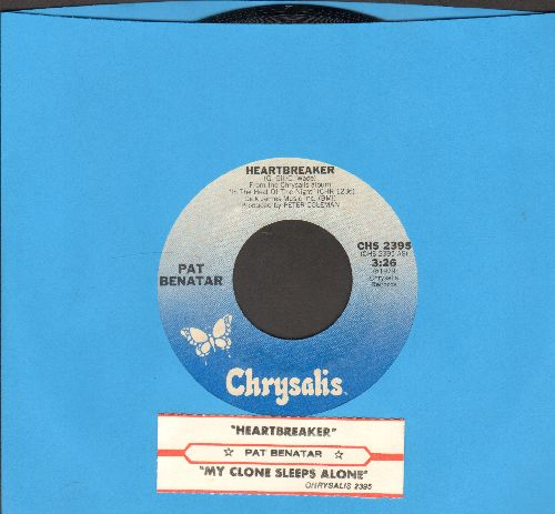Benatar, Pat - Heartbreaker/My Clone Sleeps Alone (with juke box label) - NM9/ - 45 rpm Records
