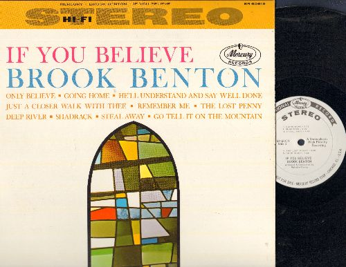 Benton, Brook - If You Believe: Going Home, Remember Me, Shadrack, The Lost Penny, Just A Closer Walk With Thee (Vinyl STEREO DJ advance pressing) - NM9/NM9 - LP Records