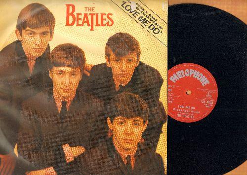 Beatles - Love Me Do/P.S. I Love You/Love Me Do (Original Single Version) (12 inch vinyl Maxi Single, British Pressing with picture cover) - NM9/VG6 - Maxi Singles