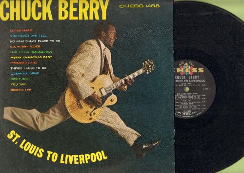 Berry, Chuck - St. Louis To Liverpool: You Never Can Tell, Brenda Lee, Merry Christmas Baby, Little Marie, No Paricular Place To Go (vinyl MONO LP record, RARE 1964 first pressing)) - EX8/EX8 - LP Records