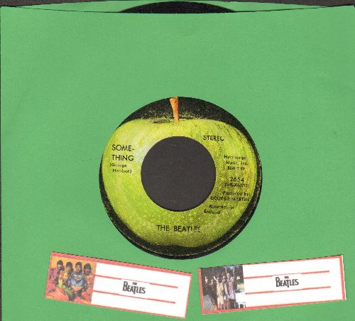 Beatles - Something/Come Together (sol) - VG7/ - 45 rpm Records