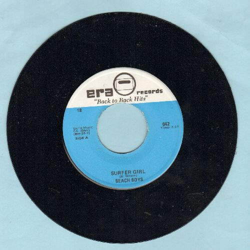 Beach Boys - Surfer Girl/The Freeze (by Tony & Joe on flip-side) (double-hit re-issue) - NM9/ - 45 rpm Records