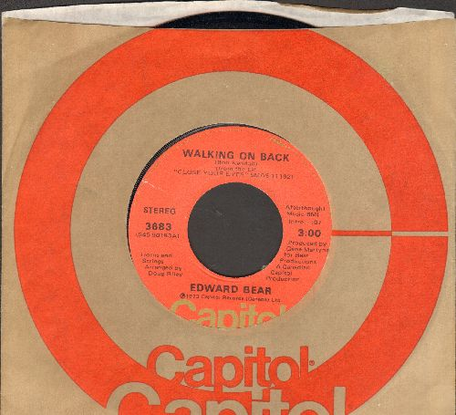 Bear, Edward - Walking On Back/I Love Her (You Love Me) (with Capitol company sleeve) - NM9/ - 45 rpm Records