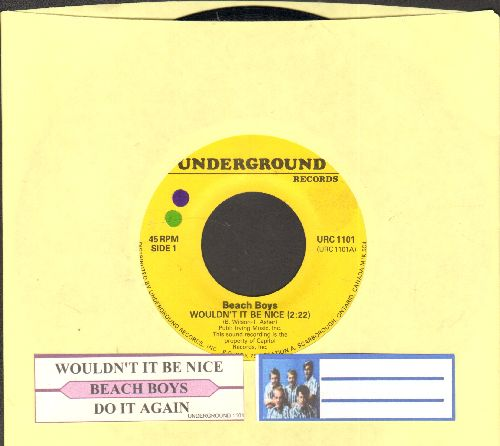 Beach Boys - Wouldn't It Be Nice/Do It Again (re-issue with juke box label) - NM9/ - 45 rpm Records