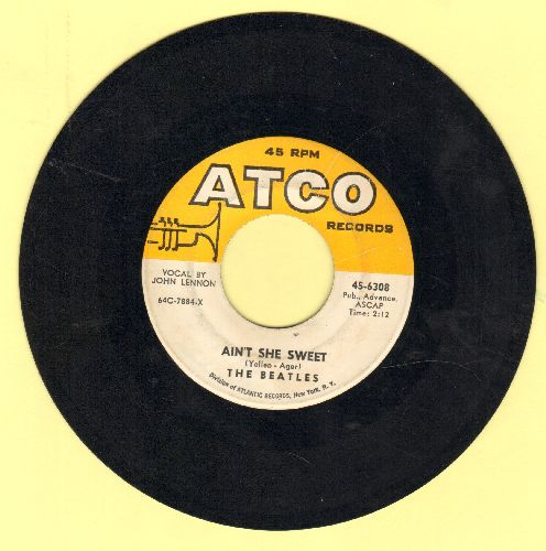 Beatles - Ain't She Sweet/Nobody's Child  - VG6/ - 45 rpm Records