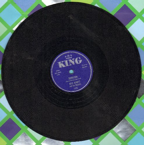 Bennett, Boyd & His Rockets - Seventeen/Little Ole You-All (10 inch 78rpm record) - EX8/ - 78 rpm
