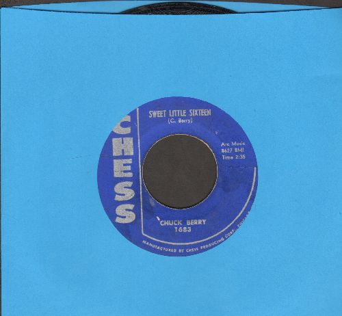 Berry, Chuck - Sweet Little Sixteen/Reelin' And Rocking  - EX8/ - 45 rpm Records