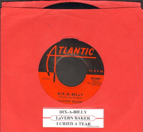 Baker, LaVern - I Cried A Tear/Dix-A-Billy  - EX8/ - 45 rpm Records
