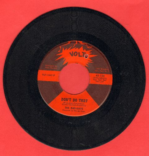 Bar-Kays - Don't Do That/Give Everybody Some (bb) - EX8/ - 45 rpm Records