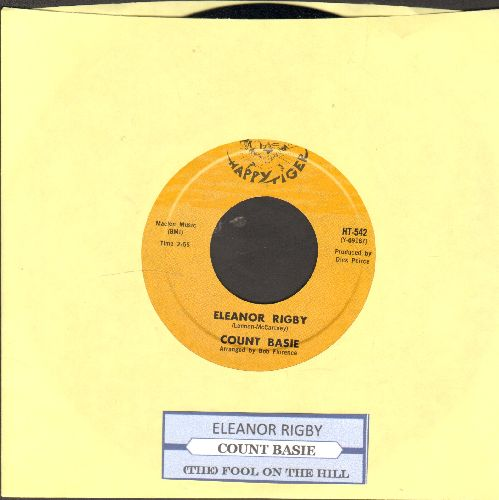 Basie, Count - Eleanor Rigby/(The) Fool On The Hill (with juke box label( - NM9/ - 45 rpm Records