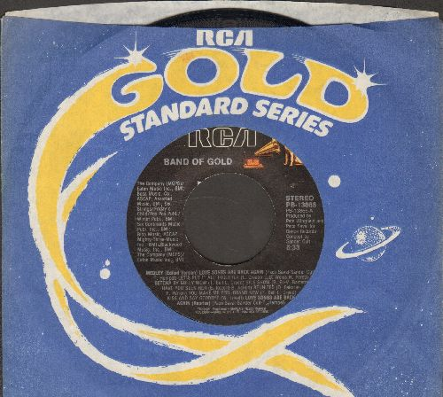 Band Of Gold - Love Songs Are Back Again (2 versions)(with RCA company sleeve) - NM9/ - 45 rpm Records