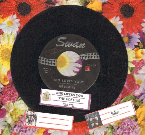 Beatles - She Loves You/I'll Get You (with juke box label) - VG7/ - 45 rpm Records