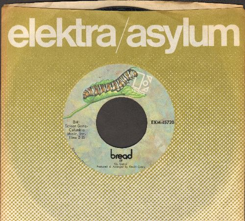 Bread - If/Take Comfort (with Elektra company sleeve) - EX8/ - 45 rpm Records