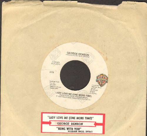 Benson, George - Lady Love Me (One More Time)/Being With You (with juke box label and company sleeve) - EX8/ - 45 rpm Records