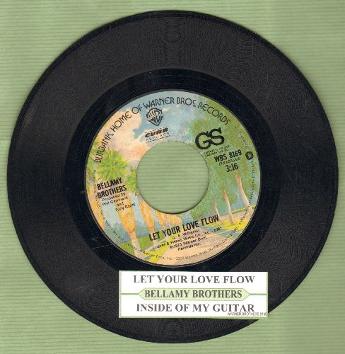 Bellamy Brothers - Let Your Love Flow/Inside My Guitar - VG7/ - 45 rpm Records