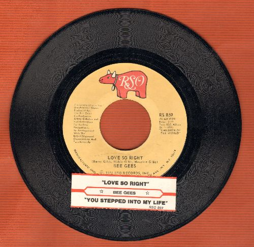 Bee Gees - Love You Inside Out/I'm Satisfied (with juke box label) - NM9/ - 45 rpm Records