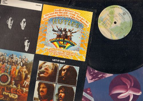 Rutles - The Rutles: Hold My Hand, Ouch!, With A Girl Like You, Piggy In The Middle (Vinyl STEREO LP record, gate-fold cover, with song lyrics on original inner sleeve) - EX8/EX8 - LP Records