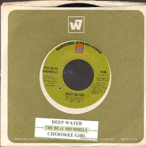 Beau Brummels - Deep Water/Cherokee Girl (with juke box label and company sleeve)(bb) - NM9/ - 45 rpm Records