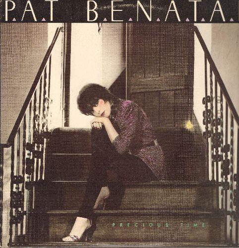 Benatar, Pat - Precious Time: Fire And Ice, Promises In The Dark, Helter Skelter, Evil Genius (Vinyl LP record) - NM9/EX8 - LP Records