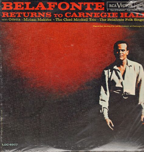 Belafonte, Harry - Belafonte Returns To Carnegie Hall - 2 vinyl LP record set in gate-fold cover, SEALED, never opened! - SEALED/SEALED - LP Records