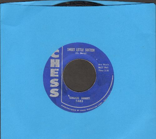 Berry, Chuck - Sweet Little Sixteen/Reelin' And Rocking  - EX8/ - 45 rpm Records