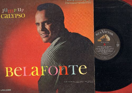 Belafonte, Harry - Jump Up Calypso: Angelina, Gloria, Kingston Market, Jump In The Line, Land Of The Sea And Sun (Vinyl MONO LP record) - VG7/EX8 - LP Records