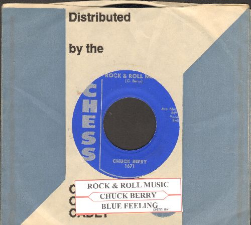 Berry, Chuck - You Never Can Tell/No Particular Place To Go (re-issue with juke box label) - NM9/ - 45 rpm Records