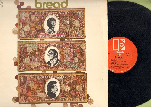 Bread - Bread: Any Way You Want Me, It Don't Matter To Me, Look At Me, London Bridge, Move Over (vinyl STEREO LP record) - EX8/EX8 - LP Records