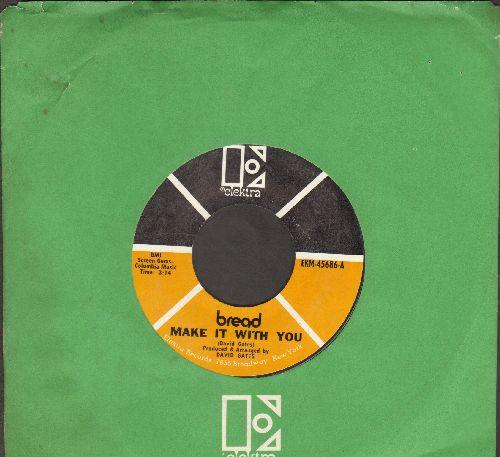 Bread - Make It With You/Why Do You Keep Me Waiting (MINT condition with Elektra company sleeve) - M10/ - 45 rpm Records