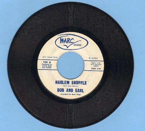 Bob & Earl - Harlem Shuffle/I'll Keep Running Back - EX8/ - 45 rpm Records