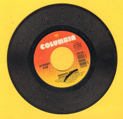 Bolton, Michael - Georgia On My Mind/Take A Look At My Face (with juke box label) - VG7/ - 45 rpm Records