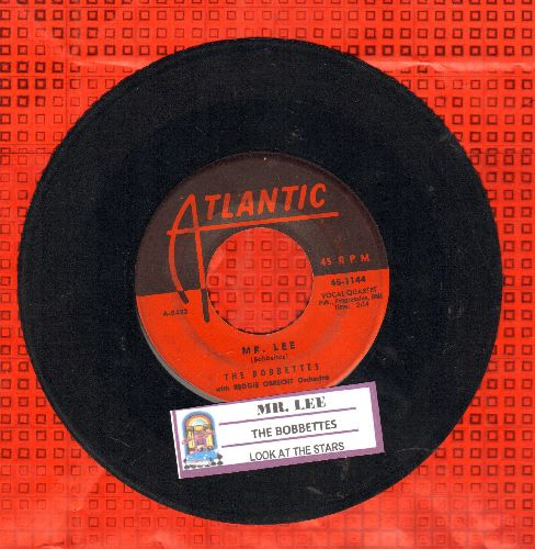 Bobbettes - Mr. Lee/Look At The Stars (with juke box label) - VG7/ - 45 rpm Records