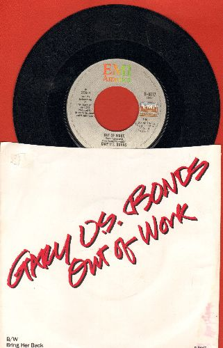 Bonds, Gary U.S. - Out Of Work/Bring Her Back (with picture sleeve) - NM9/VG7 - 45 rpm Records