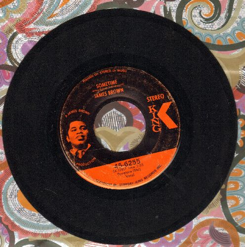 Brown, James - Sometime/Let A Man Come In And Do The Popcorn Part One - EX8/ - 45 rpm Records