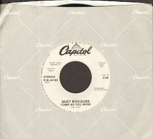 Bogguss, Suzy - Come As You Are (double-A-sided DJ advance pressing with Capitol company sleeve) - M10/ - 45 rpm Records
