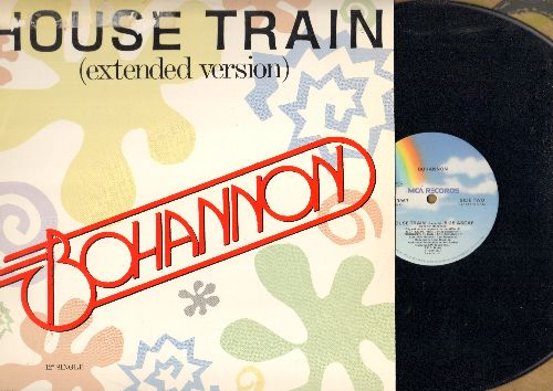 Bohannon - House Train (7:15 minutes Extended Version)/House Train (5:28 minutes Radio Edited Version) (12 inch vinyl Maxi Single with picture cover) - NM9/EX8 - Maxi Singles