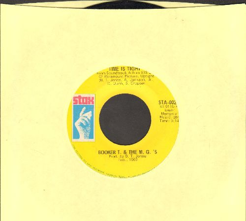 Booker T. & The M.G.'s - Time Is Tight/Johnny, I Love You - VG7/ - 45 rpm Records