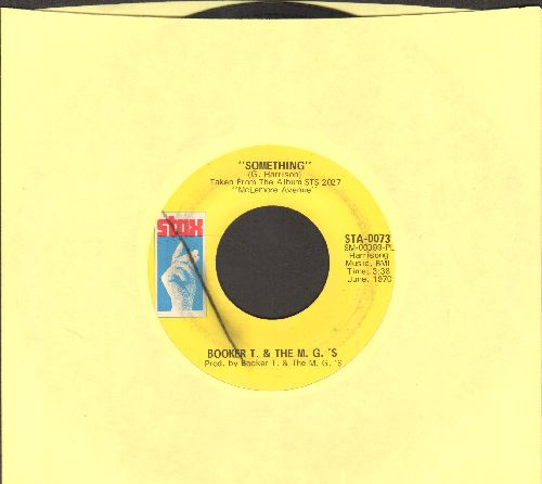 Booker T. & The M.G.'s - Something/Sunday Sermon - EX8/ - 45 rpm Records