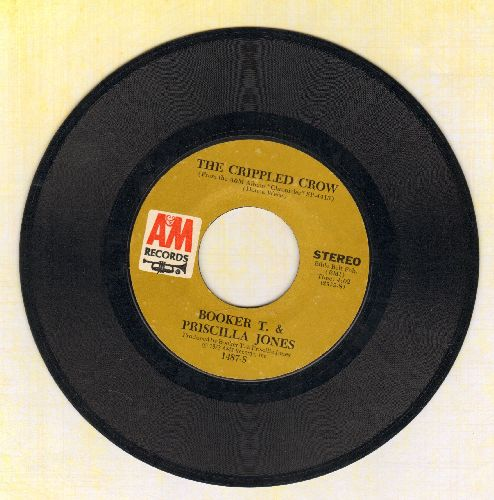Booker T. & Pricilla Jones - The Crippled Crow/Wild Fox - EX8/ - 45 rpm Records