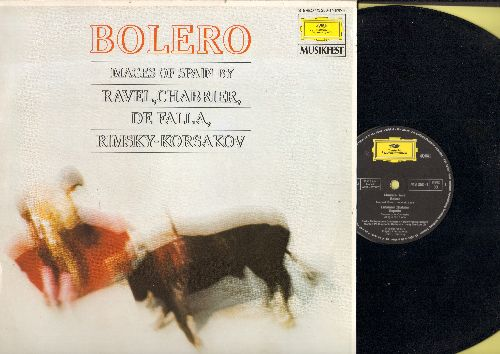 Berliner Phiharmoniker, Herbert von Karajan - Bolero - Images of Spain by Ravel, Chabbrier, De Falla, Rimsky-Kosakov (Vinyl STEREO LP record, German Pressing) - NM9/NM9 - LP Records