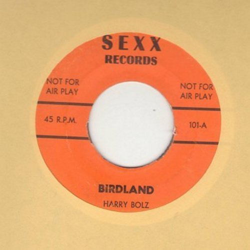 Bolz, Harry - Bridland/Hi-Yo Silver (Vintage Party Novelty - not for mixed audiences) - NM9/ - 45 rpm Records