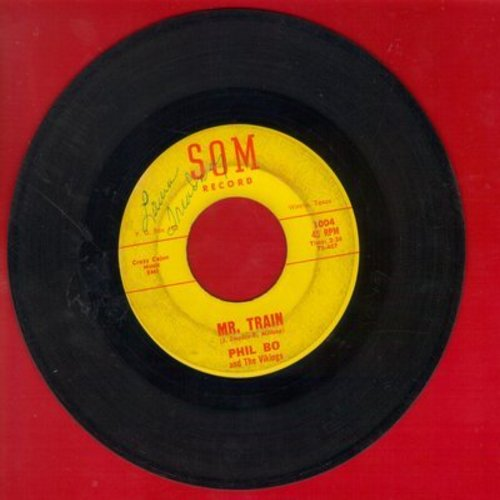 Bo, Phil & The Vikings - Mr. Train/Oh! What A Mistake - VG7/ - 45 rpm Records