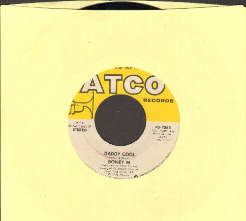 Boney M - Daddy Cool/Lovin' Or Leavin' (Original 1976 Euro-Dance Sensation!) - EX8/ - 45 rpm Records
