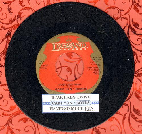 Bonds, Gary U.S. - Dear Lady Twist/Havin' So Much Fun (MINT condition with juke box label) - M10/ - 45 rpm Records