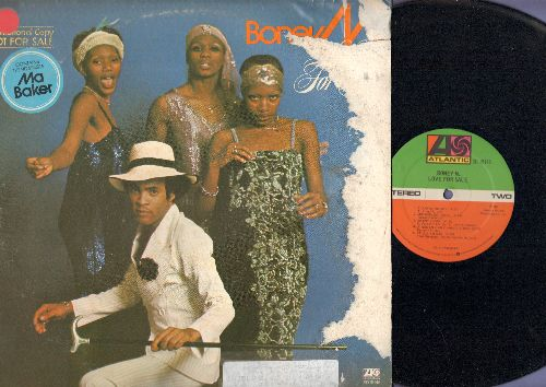 Boney M - Love For Sale: Daddy Cool, Ma Baker, Gloria Can You Waddle? (Vinyl STEREO LP record, vinyl excellent, cover rough!) - EX8/G5 - LP Records