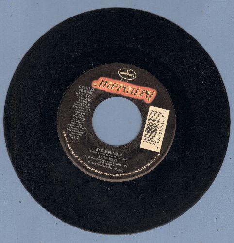 Bon Jovi - Bad Medicine/99 In The Shade - EX8/ - 45 rpm Records