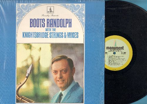 Randolph, Boots with the Knightsbridge Strings & Voices - Randolph, Boots with the Knightsbridge Strings & Voices: Temptation, Somehwere My Love, More, It's Not Unusual, Charade, Theme From Black Orpheus (vinyl STEREO LP record) - NM9/NM9 - LP Records