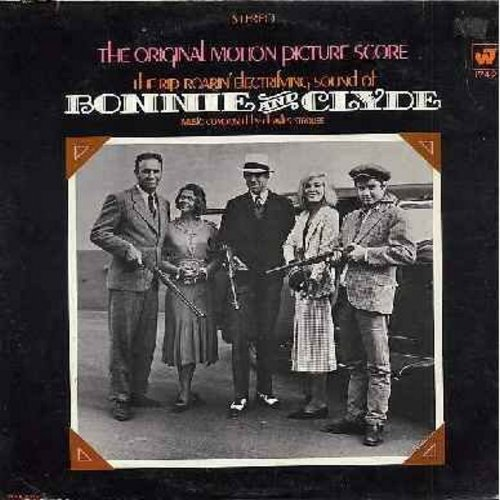 Strouse, Charles - Bonnie And Clyde: Music From The Motion Picture Score (Instrumental) - vinyl STEREO LP record - EX8/VG6 - LP Records