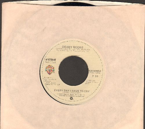 Boone, Debby - Every Day I Have To Cry/Perfect Fool (with Warner Brothers company sleeve) - NM9/ - 45 rpm Records